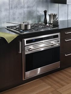 gas stovetop with built in oven