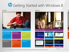 HP releases its own 'Getting Ready with Windows 8' app in Windows Store
