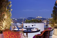 To celebrate the sunny days and warm evenings, Galaxy Bar & Restaurant launches the summer season with the opening of the terrace and the outdoor bar. Credit: Hilton Hotels & Resorts.