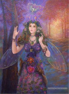 Forest Spirit by Judy Mastrangelo.
