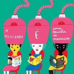 HAPPINESS IS A GOSSIP MAGAZINE Ilustrada por/Illustrated by Madalena Matoso
