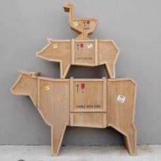 Seletti Bijzettafel Sending Animals Gans kopen? Bestel bij fonQ.nl