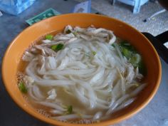 Ipoh - Ipoh Chicken Ngah Choi Noodles at Ah Chow Kopitiam at Jalan Bandar Timah at Ipoh Old Town