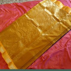 45% off Eshaa Kanjivaram silk saree deep purple and mustard border  - Online Shopping for Silk Sarees by Eshaa - Jewellery Concepts