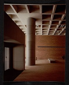 [Strom Thurmond Federal Office Building and Courthouse designed by Marcel Breuer. View of interior]