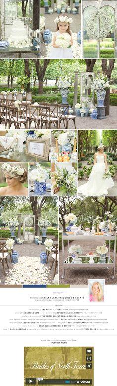 a romantic afternoon wedding | Brides of North Texas Blog