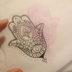 Thinking about a hamsa hand tattoo!