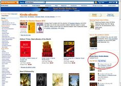 How to find free e-books narrowed down by what you like on Amazon.