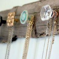 Vintage Glam Rustic Wall Rack DIY