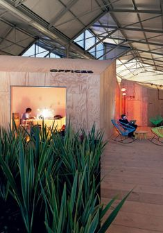 Reused Industrial Building – Red Bull Music Academy by Langarita Navarro Arquitectos