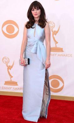 Zooey Deschanel Emmy Awards 2013