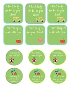 St. Patrick's Day Gift Tags- FREE!