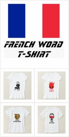 ZierNorShirt: products on Zazzle French Words, Random Stuff, T Shirt, Collection, Tops, Design, Fashion, Moda, Tee