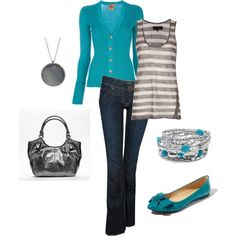 Stylin' Yet Casual, created by lislyn.polyvore.com