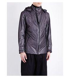 Y-3 Padded Shell Jacket. #y-3 #cloth #coats & jackets