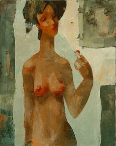 Emzar Kiknavelidze 1964 was born in the city of Zestafoni, Georgia. - it was trained at the Tbilisi art school . Artist Names, Art School, Erotica, Georgia, Abstract, Illustration, Painting, Circuits, Image