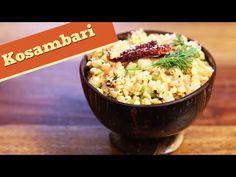 Kosambari | Quick & Healthy Vegetarian Salad Recipe | Divine Taste With ...