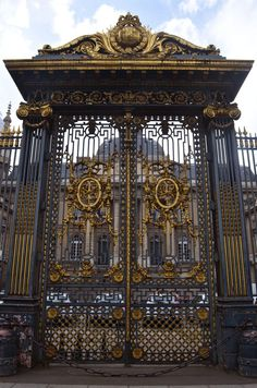 Palais de Justice gate (one of my first stops in Paris... what you get when you used to date a lawyer!)
