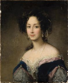 Portrait of Duchess Zinaida Yusupoff Christina Robertson (Scottish, Oil on canvas. The State Hermitage Museum. After an exhibition in St. Petersburg in Robertson was hired as. Female Portrait, Portrait Art, Portrait Paintings, Moritz Von Schwind, Hermitage Museum, Russian Art, Art History, Dame, Art Gallery