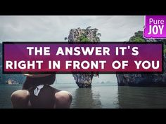 Abraham Hicks The Answer It's Right In Front Of You! - YouTube