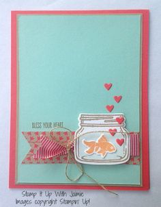 Jar Of Love - Stamp It Up With Jaimie