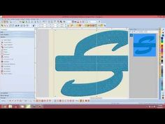 Create Family Applique Letter and Name using Art Canvas in BERNINA Embroidery Software - YouTube