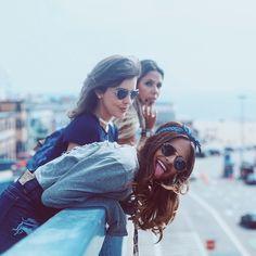 O pier de Santa Mônica até agora foi meu lugar PREFERIDO daqui. Hoje vamos pra Venice, e quando chegarmos lá eu conto se haverá mudança de opinião  .  Ahhh, já tem vlog novo de ontem no canal: www.youtube.com/viihrocha #LadyRockingInLA