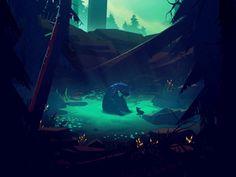 Le merveilleux monde de Mikael Gustafsson en Gifs animés
