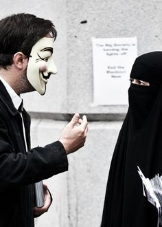 """braceletoflight: """" silentlydrawn: """" zuleikha: """" """" we cover our faces to be seen"""" """" For the spirit within """" this is probably one of the awesomest photos I've seen in a very long time."""