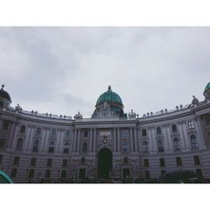 Rainy day at the Hofburg. You're not supposed to take photos inside, so I didn't get many. Just Sisi, her bedroom, and a small set of sculptures of her and Franz Joseph.