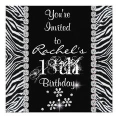 440 best 18th birthday party invitations images on pinterest in 2018 18th birthday party with animal design invitation filmwisefo