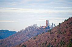 Castle ruin Scharfenberg