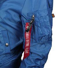 ALPHA Industries MA-1 TT Wmn Women Jacke pacific blue