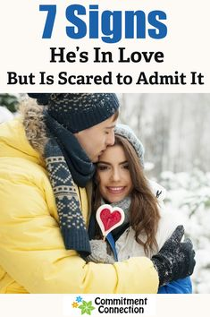 7 Signs He's In Love But Is Scared to Admit It - Commitment Connection Scared To Love, My Love, Signs He's In Love, Funny Relationship, How To Know, Connection, Love Quotes, Relationships, Told You So