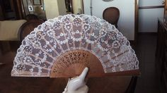Needle Lace, Bobbin Lace, Dress With Shawl, Lace Dress, Hand Fan, Embroidery Stitches, Fiber Art, Cool Stuff, Inspiration