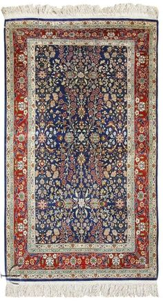 Turkish Hereke Silk Rug Early 20th C Teti Persiani Pinterest Prayer And Persian