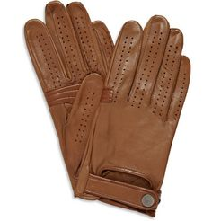 Dunhill perforated driving gloves