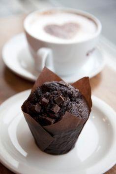 Vegan Chocolate Love Muffins