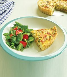 Smoked Mackerel Flan - A lovely dish which is perfect for the family and great if you're having friends over! - www.fishisthedish.co.uk/recipes/smoked-mackerel-flan-2