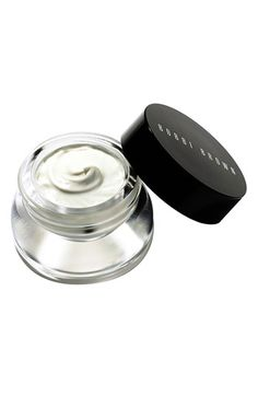 Bobbi Brown's Extra Repair Eye Cream  Very nice texture and works great under concealer and foundation. So far, the best hydrating eye cream I've used. Does it help with wrinkles? Not sure yet.