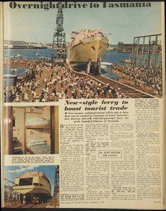 Issue: 4 Feb 1959 - The Australian Women's Week. Ship Tracker, Historic Newspapers, Princess Cruises, Tasmania, Australia, History, Image, Historia