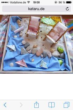 Geldgeschenk Strand Geschenke Verpackung