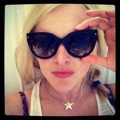 Fearne Cotton Prada sunglasses