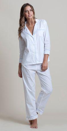 Classic Long Pajama Set