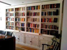 #boekenkast op #maat gemaakt door Dock10