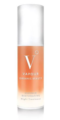 Vapour Organic Beauty Essence Restorative Night Treatment, Organic, Non-Toxic, Anti-Aging Skin Care | Cleansing Oil Makeup Remover