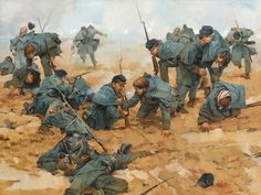 The Battle of  Stones River.