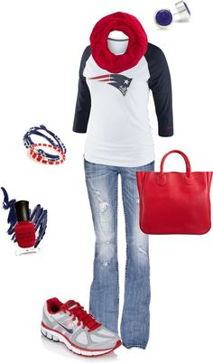 """Patriots"" by kristen-ahl on Polyvore"