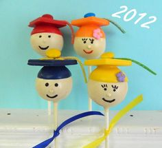 Graduation Kids Cake Pops