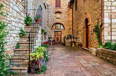 Zdjęcia na płótnie, fototapety na wymiar, obrazy na ścianę : Corciano (Umbria)